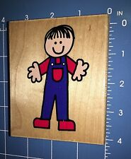 Boy Hero Arts Danny Wood Mounted Rubber Stamp