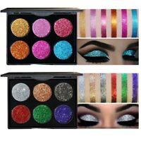 Glitzer Lidschatten Palette Makeup Pigmente Schimmer Powder Eye Shadow