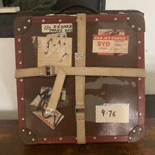 16mm film FILM TRUNK SHIPPING CASE Hong Kong kung fu movie record LP DJ bag