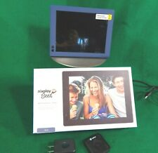Nixplay Seed 8 Inch WiFi Digital Photo Frame - Blue