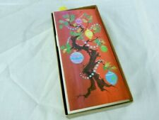 Vtg 60s Unused Holiday Cards 25 Ct Box Merry Christmas & a Bright & Gay New Year
