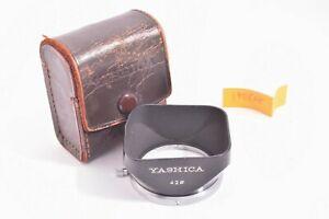 Yashica Lens Hood for Yashikor Nikkor 50mm NIKKOR-H.C 5cm f2 #190828