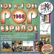 LOS Nº1 DEL POP ESPAÑOL 1968-2CD