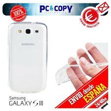 R490 Funda gel TPU flexible 100% transparente para SAMSUNG Galaxy S3 GT-i9300 SI