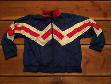 RARE🔥 Adidas Vintage Tracktop Royal Blue Lined Jacket Men's M Fits L Original