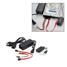USB 2.0 to IDE SATA S-ATA 2.5 3.5 HD HDD Hard Drive Adapter Converter Cable NEW