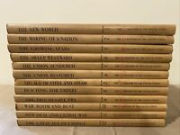 Vintage Time Life Books - The Life History Of US Volume 1-12 Set United States