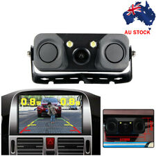 3 In1 Car Reversing Kit Video Rear Smart View Camera with Parking Sensor MA1956