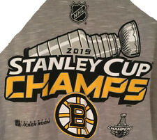Super Rare NHL 2019 Boston Bruins Stanley Cup Champions TEE M-Did Not Win! NWOT