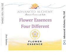 Flower Essences Four Different You Select - Advanced Alchemy 100ml