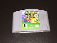 Super Mario 64 Nintendo 64 N64 Cleaned & Tested