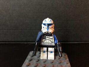 LEGO Star Wars Minifiguren Figur Captain Rex 2. Phase Clone Wars