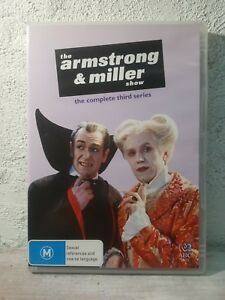 THE ARMSTRONG AND MILLER SHOW - SERIES 3 (DVD) Third Season - Very RARE ! REG 4