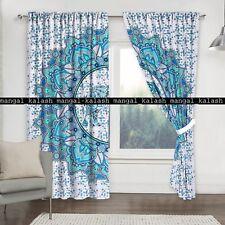 Indien Cotton Elephant Mandala Curtains Window Door Decor Hanging Drape Valances