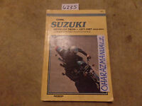 1977-1987 Suzuki GS400-450 Twins Chain Drive Service Manual OEM