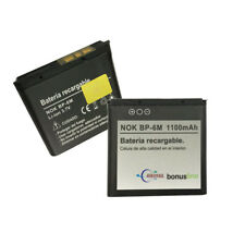 Batería BP-6M para Nokia 9300 3250 6110 6151 6233 6234 6280 6288 N73 N77 N81 N93