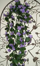 Quality Artificial / Silk Flowers  Purple  Trailing  Bacopa  Plant  85cm long