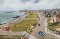 "Scotland Postcard - The Esplanade Looking West, Troon - ""Art Colour"" T10232"