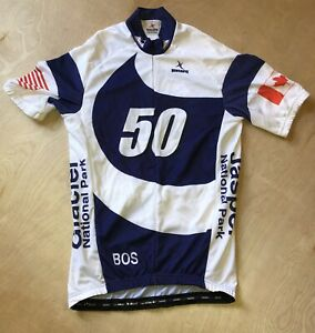 Hincapie Pro Cycling Traversing the 50th Parallel Jersey Mens Small