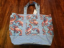 Vineyard Vines For Target Beach Tote Lobsters XL NEW NWT!