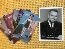 More details for signed mel odom photograph gene marshall doll designer and rare shop advertising