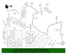 "Locking Hub Solenoid FORD 7L1Z9H465B ""Genuine Parts"""