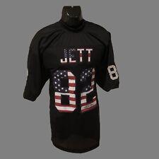 Oakland Raiders, James Jett Autographed custom black Flag Jersey w/JSA