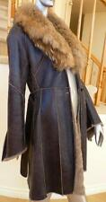 Italy Lamb Spain Merino Sheepskin Shearling Fox Racoon Fur Coat дубленка Mouton