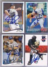 MLB MAJOR LEAGUE BASEBALL AUTO AUTOGRAPH AUTOGRAPHED SIGNED U PICK PLAYER CARD
