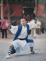 3 Pieces Shaolin Monk Uniform Tai chi Martial arts Wushu Wing Chun Kung fu Suit