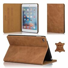 32nd Premium Leather Folio Case for Apple iPad Mini 4 4th Gen Cover Made From -