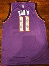 Ricky Rubio Signed Phoenix Suns Jersey Psa/Dna Coa Autographed Spain