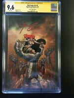 """Red Sonja Vol 5 #9 CGC 9.6 Signed by Amanda Conner, Conner """"Virgin"""" Edition"""