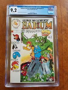 RADIUM AND HIS INTERGALACTIC ODD SQUAD # 1 FANTASY GENERAL COMICS CGC 9.2 1985