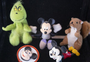 Mickey Mouse Collectible Toy Lot. Disney & Friends Small Plush Misc. Grab Bag