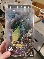 "Gorilla Alien W Face Hugger Aliens Series 10 Dark Horse 7"" Action Figure NECA"