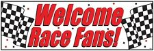 Welcome Race Fans Party Banner