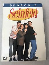 Seinfeld Season 3 Volume 2 DVD Set Complete Pre Owned