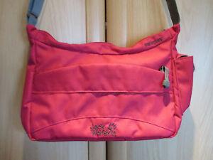 JACK WOLFSKIN BOOMTOWN Damen Handtasche Outdoor Umhängetasche pink/rot