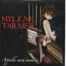Mylene Farmer cd single Appelle Mon Numéro neuf