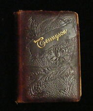 Tennyson, Poetical Works, Alfred Lord Tennyson,1900,Crowell,Leather Antique Octi