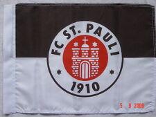 "Original Fc St Pauli , kleine ""Logo"" Stockfahne , ovp / Neuware , Hamburg"