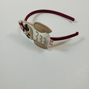 Gymboree Headband Cozy Owl Winter Holidays