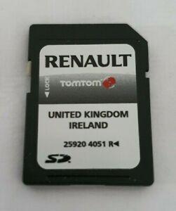 Genuine Renault 2008 2009 2010 TomTom Navigation SAT NAV SD Card 25920 4051 R