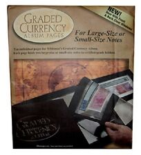 Certified Banknotes 10 REFILL PAGES For Graded Currency Collection PMG Album USA