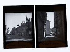 FRANCE 1936 CHER AUBIGNY/MER BOURGES 7 BELLES Photos Positives Plaques Verre6x9