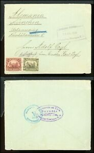 Nicaragua Postal History LOT #130 1939 30c Franking MATAGALPA - MUNICH $$$