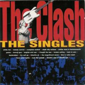 The Clash The Singles CD Comp RE RM 7344