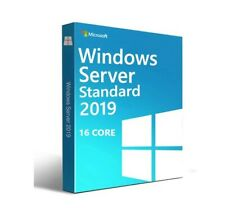 Windows Server 2019 Standard | Vollversion | 64 bit | 16-Core | Key Sofort