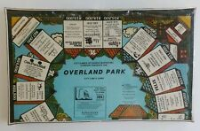 Overland Park City Limits Board Game City Games of Kansas Marketing Company New!
